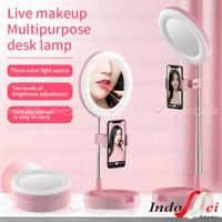 Kaca Ring light G3 Live Tiktok Led Light / Kaca Make up Lipat