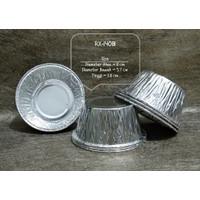 ALUMINIUM MODEL CUP RX-14081 - WADAH ALUMINIUM FOIL BULAT RX 14081