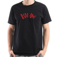 Kaos Lengan Pendek Pria   T-shirt SA X Alphalab - Hitam