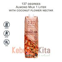 137 degrees Almond Milk with Coconut Flower Nectar 1 Liter