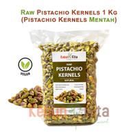 Raw Pistachio Kernels 1 Kg (Pistachio Tanpa Cangkang Mentah)