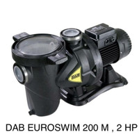 DAB EUROSWIM 200 M 2 HP Pompa Air Kolam Renang Swimming Pool Pump