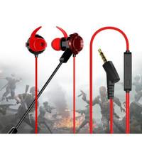 Earphone Gaming For Mobile Legend PUBG Headset Mic Gaming - XG120 HITAM