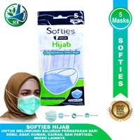 Masker Softies Hijab Daily isi 5 Masks