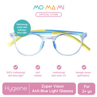 Momami Zuper Vision Anti-Blue Light Glasses-Kacamata Anti Radiasi-Blue