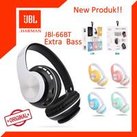 [ORIGINAL] Headphone Bluetooth Wireless JBL 66BT Extra Bass - Putih