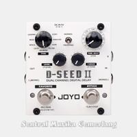 Joyo D-SEED II / Pedal Efek Gitar Joyo Double Foot Switch Stereo Delay