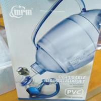 Ambubag PVC dewasa adult MPM / Resuscitator set