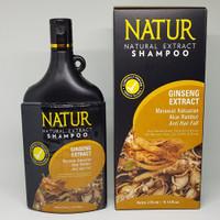 NATUR NATURAL EXTRACT SHAMPOO - GINSENG - ORIGINAL BPOM - 80ML