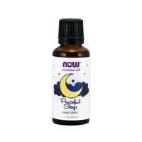 NOW Peaceful Sleep Essential Oil - 30 ml Lavender Chamomile Sandalwood