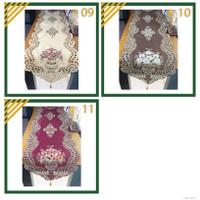 Taplak Meja Tamu Minimalis Bordir Mewah Panjang Murah40x180