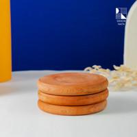 Adisa Wooden Coaster / Alas Kayu untuk Cangkir /Gelas Diameter 10 cm