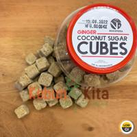 Ginger Coconut Sugar Cubes 250gr (Gula Kelapa Jahe Kotak)