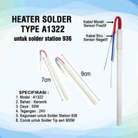 Heater Solder 50W Type A1322 for Solder Station 936