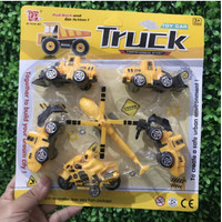 DYB168 Mainan TRUCK Transportation Mini 6pcs
