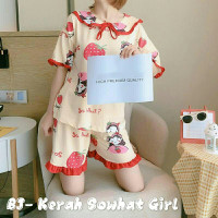 ecgb Kerah Sowhat Girl , Cotton spandek import goodquality allsize