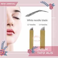 Jarum Tato Alis Permanen 12 Needles
