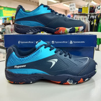 Sepatu badminton bulutangkis flypower playpower losari 03 navy biru