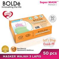BOLDe Premium Plus 3 Ply 50 Pcs