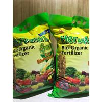 Pupuk Organik Herbafarm Granul 5 Kg (Paket 2 sak @ 5 kg)