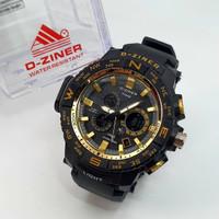 jam tangan pria sport dziner anti air termurah DZiner Jam Tangan Sport