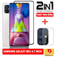 Tempered Glass Samsung Galaxy M51 6,7 Inch+ Tempered Glass Camera
