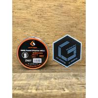 Geek Vape Fused Clapton 26GA*3+36GA 10ft Ni80 Nichrome Nicrome Coil