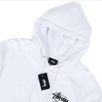 stussy world tour flag hoodie original