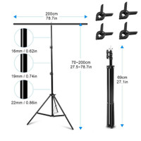 Meking T Background Stand 200x200cm for Product & Model Photography