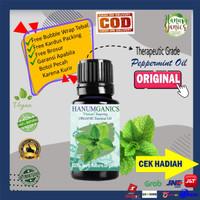 Peppermint Essential OiL / Minyak daun Mint, 100% Minyak Mint Asli,l - 5 ML