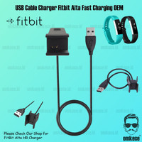 Cable Charger Fitbit Alta not Alta HR Kabel Charger Fast Charging OEM