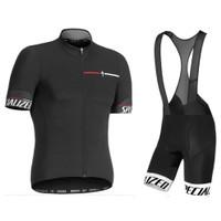 Jersey Sepeda Setelan Specialized Import Kaos Celana BIB Roadbike