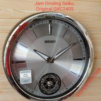 Jam Dinding / Tembok Seiko Original New / Terbaru QXC240S / SILVER.