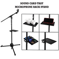 Sound Card V8 Tray Papan Broadcast live For Tripod - Holder Y4-002
