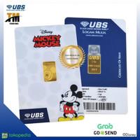 Logam Mulia UBS Disney Mickey mouse 2 gr