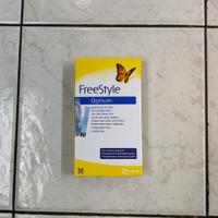 blood glucose strip optium freestyle