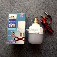 Lampu Led DC 12V Daya 12W Untuk Aki / Sollar Cell Panjang Kabel 1.5M