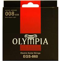 OLYMPIA Electric Guitar Strings EGS 860 / Senar Gitar Elektrik 6 strs