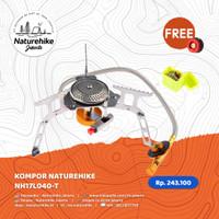 NATUREHIKE KOMPOR NH17L040-T CAMPING PORTABLE ULTRALIGHT GAS MINI
