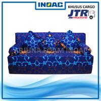 Sofa Bed Busa INOAC 200x180x15 cm Garansi 10th Ekspedisi CARGO