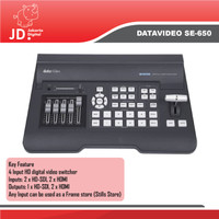 Datavideo SE-650 4 Channel Digital Video Switcher