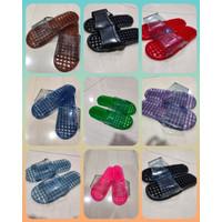 Sandal selop refleksi kesehatan pijat refleksi akupuntur kaki