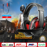 Gaming Headphone Adjustable Bass Stereo PC Wired Headset With MicGifts
