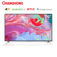 New Changhong 50 Inch 4K UHD Android 9.0 Smart TV Netflix LED TV U50K2