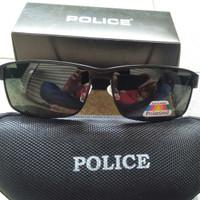 Kacamata hitam pria Police polarized anti silau ORIGINAL