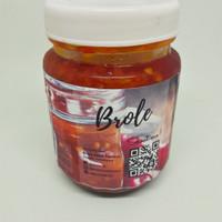Sambal Terasi Brole Homemade (Kemasan botol 180 gram)