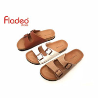 Fladeo F20/LDS285-3RA/Sandal For Ladies [ Slip On Style ]