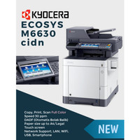 Mesin Fotocopy Warna A4 Kyocera ECOSYS M6630cidn