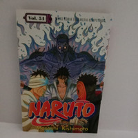 Buku komik NARUTO SASUKE VS DANZO Vol.51