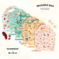 Mooi Reusable Bag Shopping Bag Printing